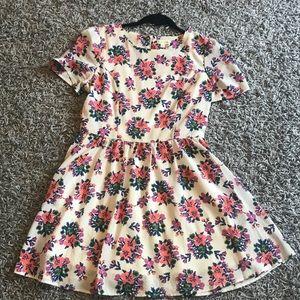 Maison Jules Floral Dress